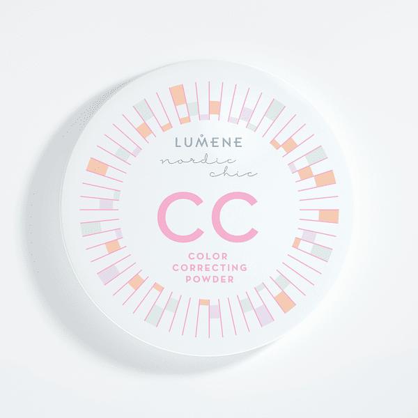 Двуцветна пудра-коректор -Lumene Nordic Chic CC Color Correcting Powder